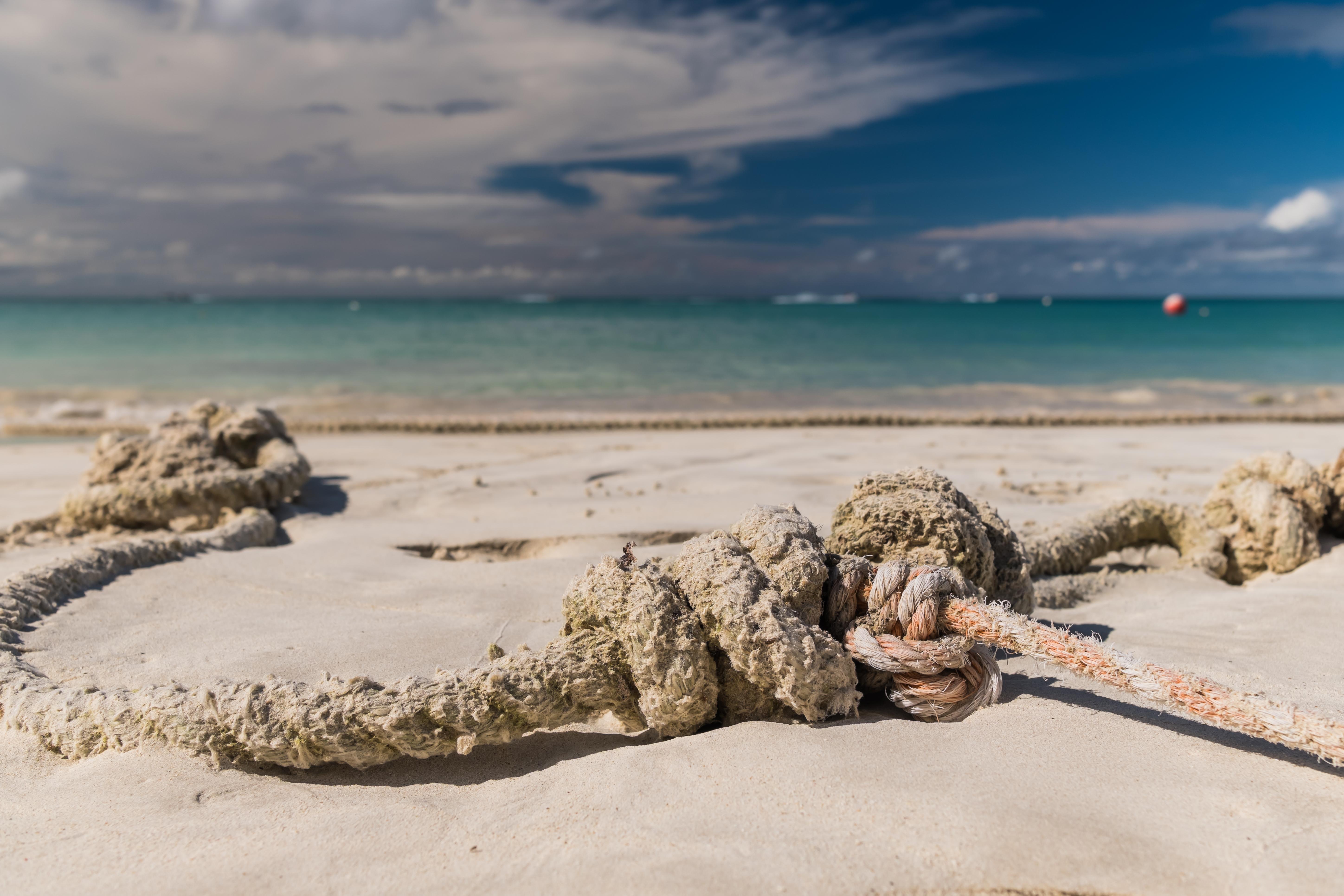 Vertauter Karibikstrand