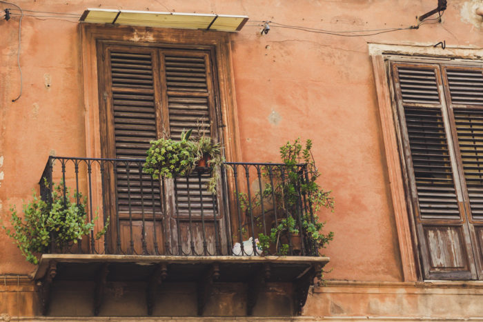 Palermitanischer Balkon