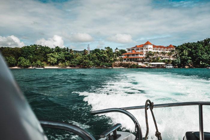 Cayo Levantado, Samaná, Dominikanische Republik